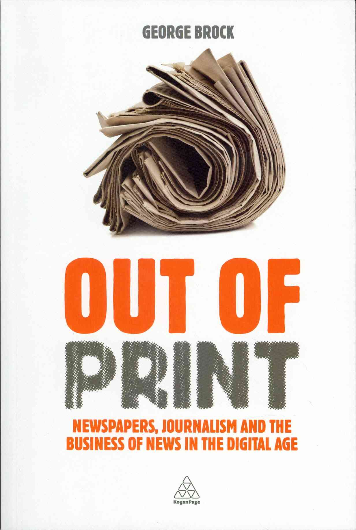 Out of Print By Brock, George